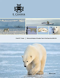 E Copper Review and Analysis of Canadian Trade in Polar Bears from 2005 2014 final draft for distribution May 8 1